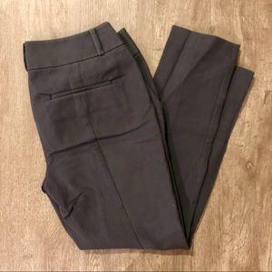 Grey Skinny Dress Pants